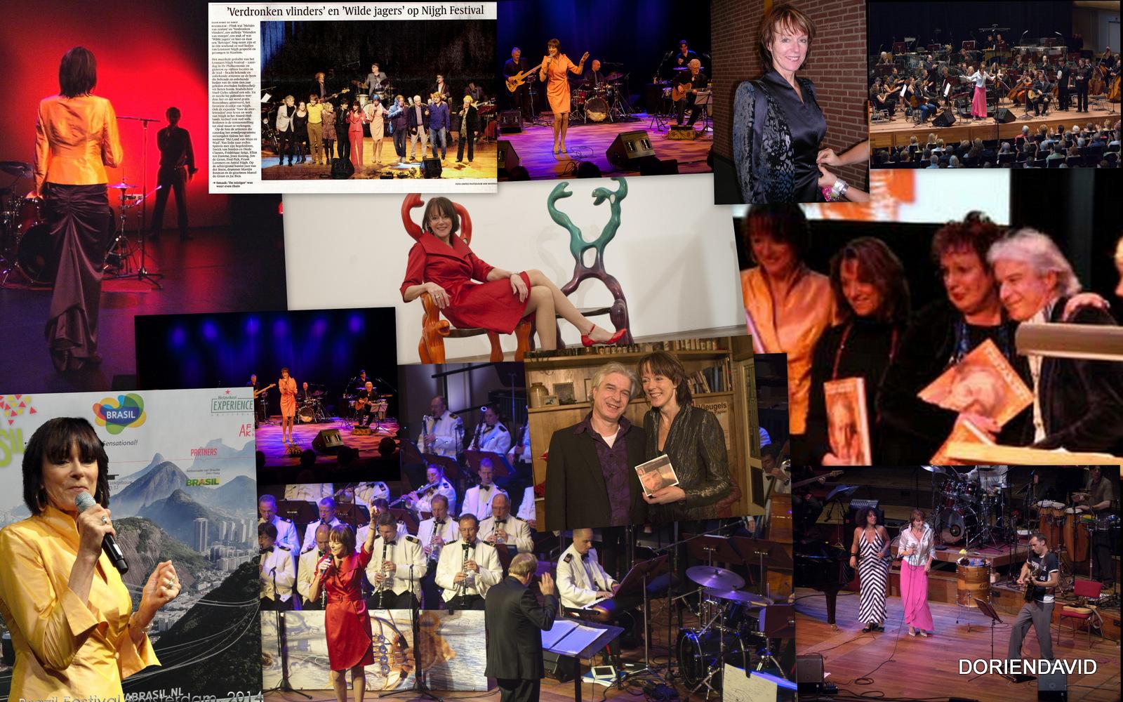 Josee Koning, collage met o.a. Boudewijn de Groot