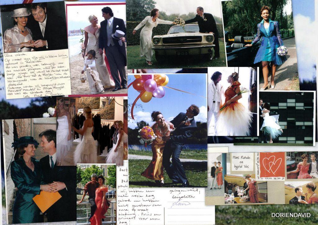 Bruiden die een andere kleur dan wit ook mooi vinden