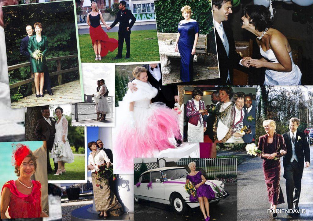 Diverse bruiden in zeer verschillende stijlen en kleuren