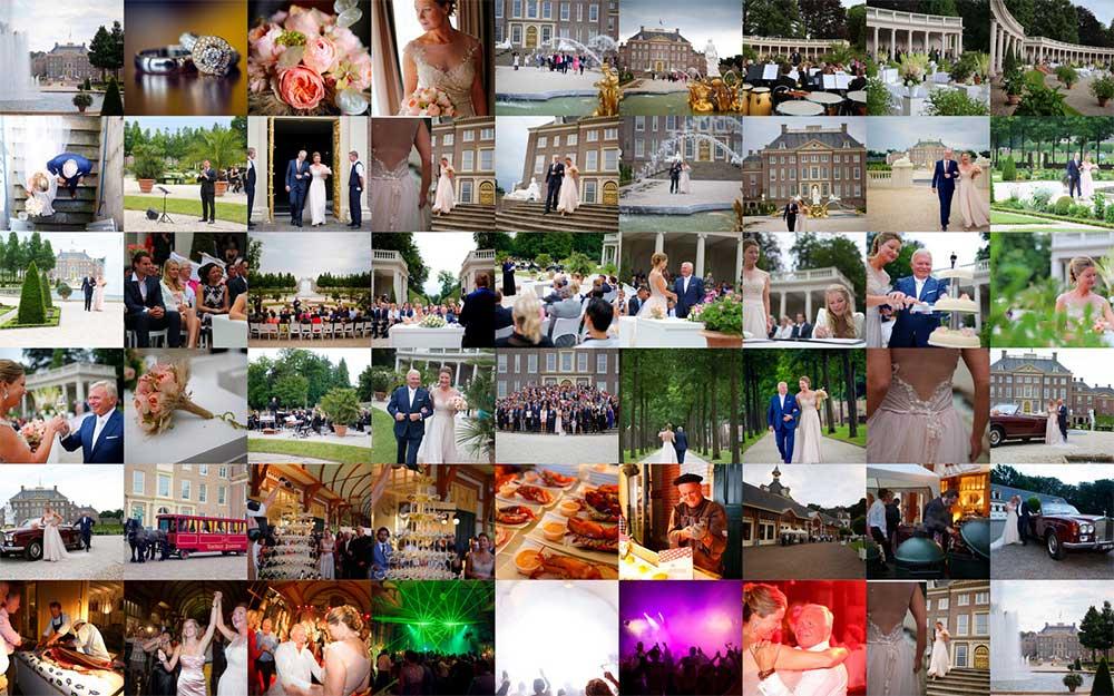 Huwelijk van Jacqueline en Willem Visscher op Paleis Het Loo