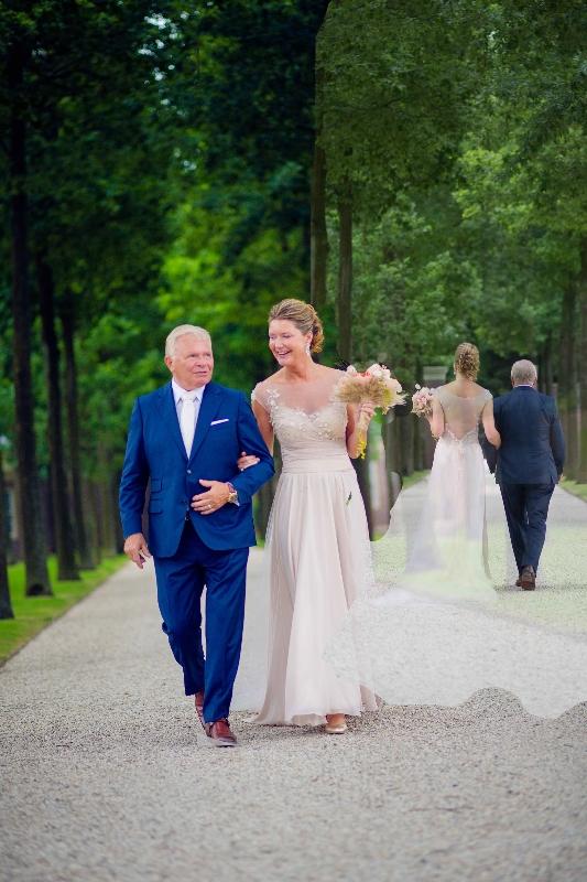 Foto bruidspaar Jacqueline en Willem Visscher