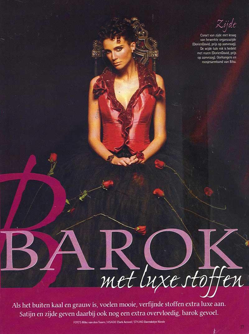 DORIENDAVID: Barok met luxe stoffen in Beau Monde