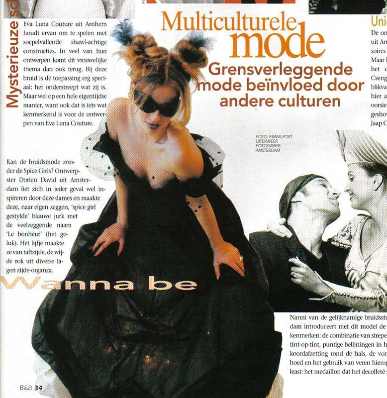 Bruid en Bruidegom Magazine, Multiculturele mode
