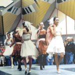 Modeshow op Overblaak Rotterdam
