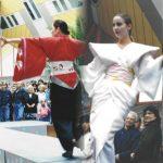 Unieke kimono's door DORIENDAVID tijdens Japans Festival Oude Haven Rotterdam