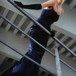 Strapless dress model La Strada