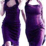 Halter dress model Joyner