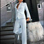 Dames colbertpak van jasje met broek (Shesuit)