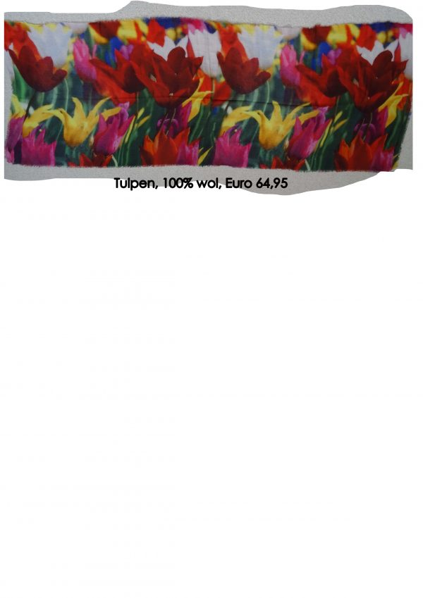 Scarf Tulips 2