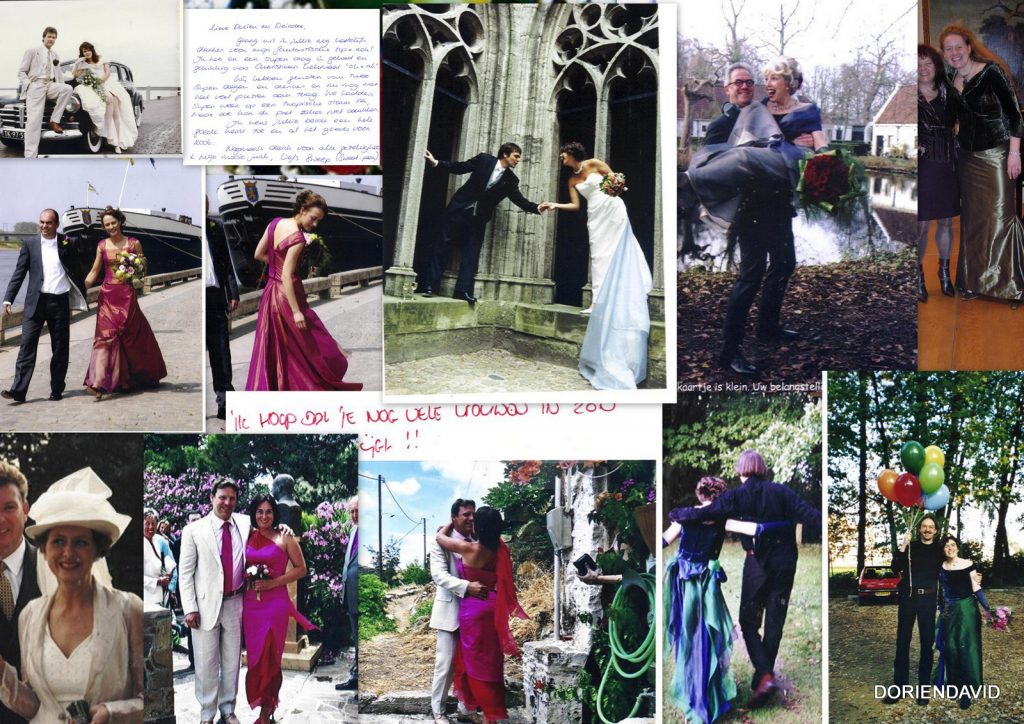 Bruiden en andere klanten in creaties DORIENDAVID