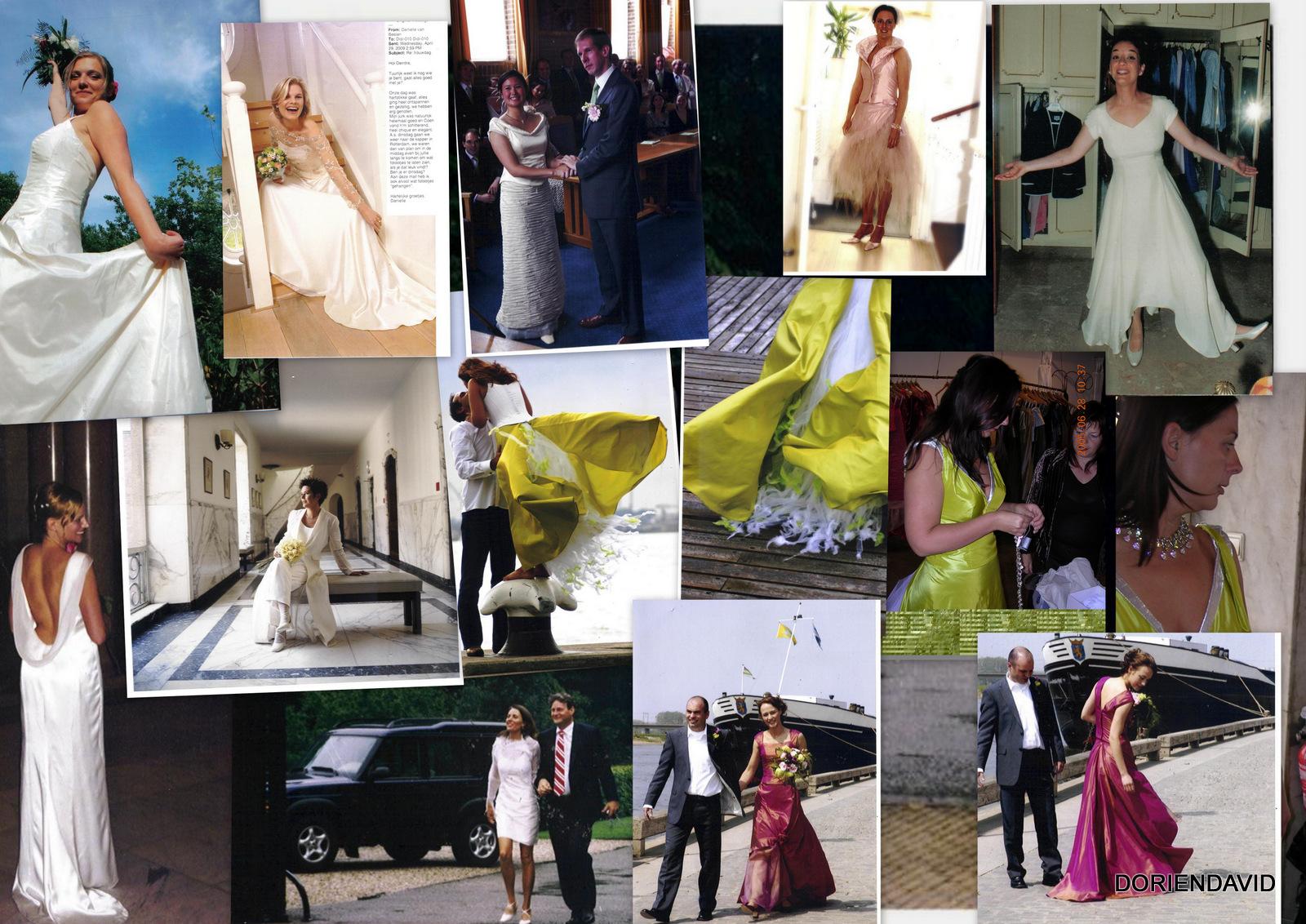 Bruiden in steeds verschillende creaties