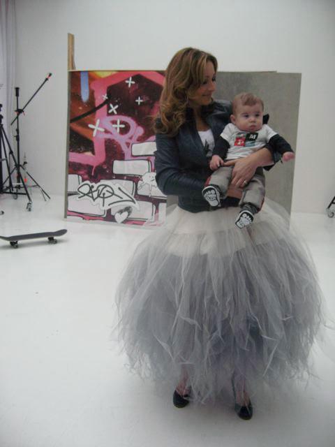 Petticoat rok van DORIENDAVID in magazine Kinderen