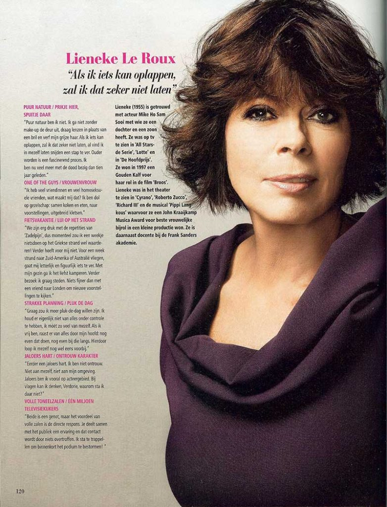 Beau Monde magazine, november 2010